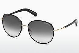 Solglasögon Tom Ford Georgia (FT0498 01B) - Svart, Shiny