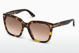 Solglasögon Tom Ford Amarra (FT0502 52F) - Brun, Dark, Havana