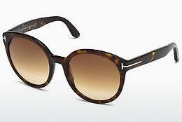 Solglasögon Tom Ford Philippa (FT0503 52F) - Brun, Dark, Havana