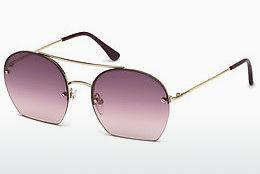 Solglasögon Tom Ford Antonia (FT0506 28Z) - Guld