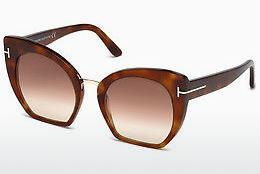 Solglasögon Tom Ford Samantha (FT0553 53F) - Havanna, Yellow, Blond, Brown