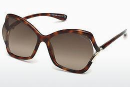 Solglasögon Tom Ford FT0579 53K - Havanna, Yellow, Blond, Brown