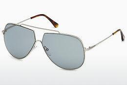 Solglasögon Tom Ford FT0586 16A - Silver, Shiny, Grey