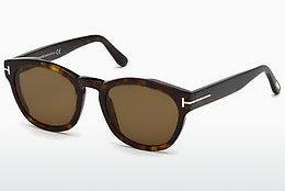 Solglasögon Tom Ford FT0590 52J - Brun, Dark, Havana