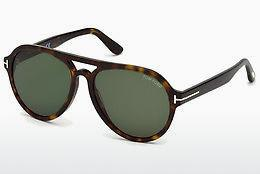 Solglasögon Tom Ford FT0596 52N - Brun, Dark, Havana