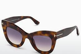 Solglasögon Tom Ford FT0612 53Z - Havanna, Yellow, Blond, Brown