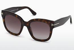 Solglasögon Tom Ford FT0613 52T - Brun, Dark, Havana