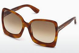 Solglasögon Tom Ford FT0618 53F - Havanna, Yellow, Blond, Brown