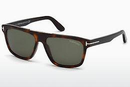 Solglasögon Tom Ford FT0628 52N - Brun, Dark, Havana