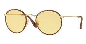 Ray-Ban RB3475Q 90424A YELLOW PHOTOCROMATICLEATHER LIGHT BROWN