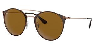 Ray-Ban RB3546 9074 BROWNCOPPER ON TOP HAVANA
