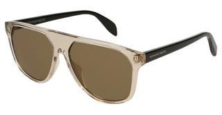 Alexander McQueen AM0146S 004 BROWNBROWN