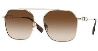Burberry BE3124 110913 BROWN GRADIENTLIGHT GOLD