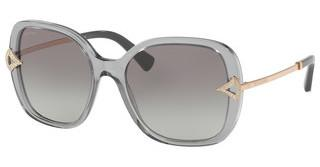 Bvlgari BV8217B 547511 GREY GRADIENTTRANSPARENT GREY