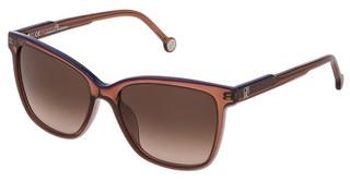Carolina Herrera SHE792 07UK BROWN GRADIENTMARRONE+ROSA LUCIDO
