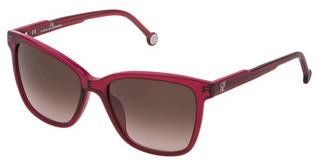 Carolina Herrera SHE792 09RV BROWN GRADIENT PINKROSSO+FUXIA