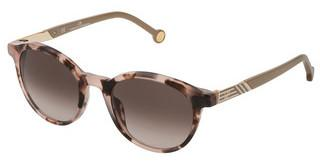 Carolina Herrera SHE797 0AGK BROWN GRADIENT PINKAVANA VINTAGE ROSA/MARRONE LUCIDO