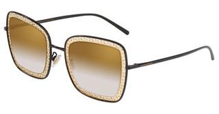 Dolce & Gabbana DG2225 13116E DARK/LIGHT BROWN GRADIENTBLACK/GOLD