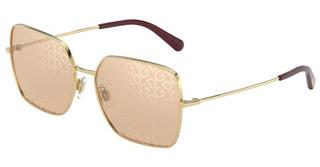 Dolce & Gabbana DG2242 02/02 LIGHT BROWN TAMPO D&G SILVERGOLD