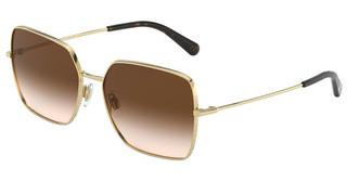 Dolce & Gabbana DG2242 02/13 BROWN GRADIENT DARK BROWNGOLD