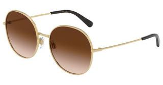 Dolce & Gabbana DG2243 02/13 BROWN GRADIENT DARK BROWNGOLD