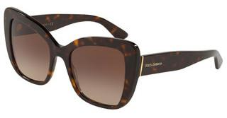 Dolce & Gabbana DG4348 502/13 BROWN GRADIENT DARK BROWNHAVANA