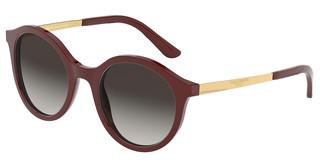 Dolce & Gabbana DG4358 30918G LIGHT GREY GRADIENT BLACKBORDEAUX