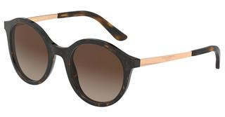 Dolce & Gabbana DG4358 502/13 BROWN GRADIENT DARK BROWNHAVANA