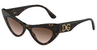 Dolce & Gabbana DG4368 502/13 BROWN GRADIENT DARK BROWNHAVANA