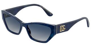 Dolce & Gabbana DG4375 32534L GREY GRADIENT BLUEBLUE MARBLE