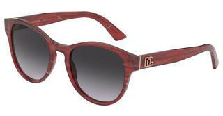 Dolce & Gabbana DG4376 32528G LIGHT GREY GRADIENT BLACKBORDEAUX MARBLE