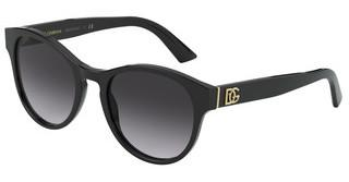 Dolce & Gabbana DG4376 501/8G LIGHT GREY GRADIENT BLACKBLACK