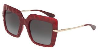 Dolce & Gabbana DG6111 15518G GREY GRADIENTTRANSPARENT BORDEAUX