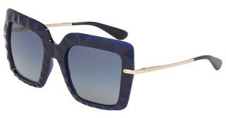 Dolce & Gabbana DG6111 30944L LIGHT GREY GARDIENT DARK BLUEOPAL BLUE