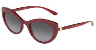 Dolce & Gabbana DG6124 15518G LIGHT GREY GRADIENT BLACKTRANSPARENT BORDEAUX