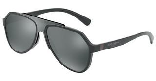 Dolce & Gabbana DG6128 31016G LIGHT GREY MIRROR BLACKGREY