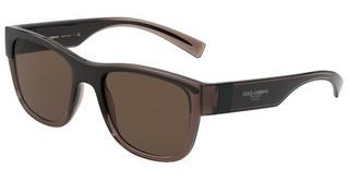 Dolce & Gabbana DG6132 325973 BROWN GRADIENT DARK BROWNTRANSPARENT BROWN/BLACK