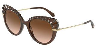Dolce & Gabbana DG6135 315913 BROWN GRADIENT DARK BROWNTRANSPARENT BROWN