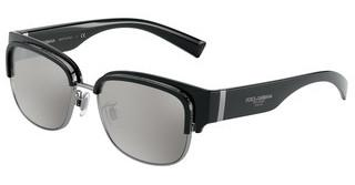 Dolce & Gabbana DG6137 501/6G LIGHT GREY MIRROR SILVER 80BLACK