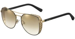Jimmy Choo SHEENA/S 2M2/JL BROWN SS GLDBLK GOLD