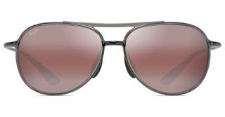 Maui Jim Alelele Bridge R438-11 Maui RoseTranslucent Smoke Grey