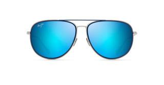 Maui Jim Fair Winds B554-17M Blue Hawaiisilberne