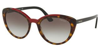 Prada PR 02VS 3200A7 GREY GRADIENTHAVANA/RED