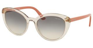 Prada PR 02VS 326130 GREY GRADIENTTRANSP BROWN/TRANSP PINK