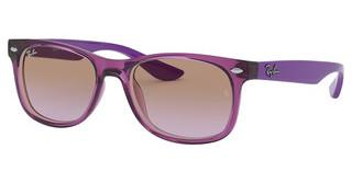 Ray-Ban Junior RJ9052S 706468 VIOLET GRADIENT BROWNTRANSPARENT FUXIA