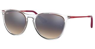 Ray-Ban Junior RJ9060S 7032B8 BROWN GRAD DARK BROWN MIR SILVTRASPARENT