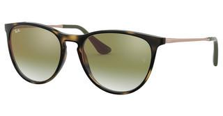 Ray-Ban Junior RJ9060S 7048W0 GREEN MIRROR REDHAVANA