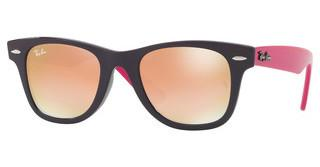 Ray-Ban Junior RJ9066S 7021B9 GREEN GRAD. BROWN MIRROR PINKVIOLET