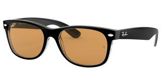 Ray-Ban RB2132 63983L YELLOW MIRROR GOLDBLACK/TRASPARENT