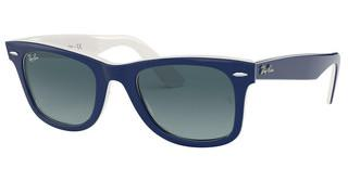 Ray-Ban RB2140 12993M BLUE GRADIENTBLUE ON WHITE